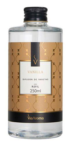 Refil Difusor Varetas Vanilla 250ml - Via Aroma
