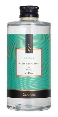 Refil Difusor Varetas Breeze 250ml - Via Aroma