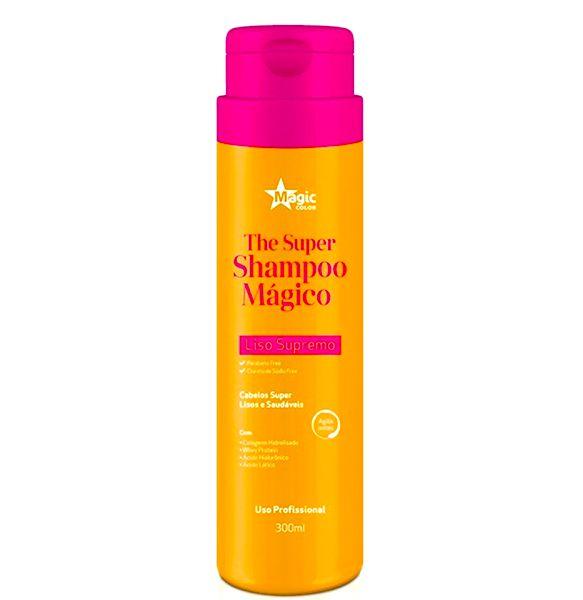Shampoo Que Alisa Magic Color - The Super Shampoo Mágico