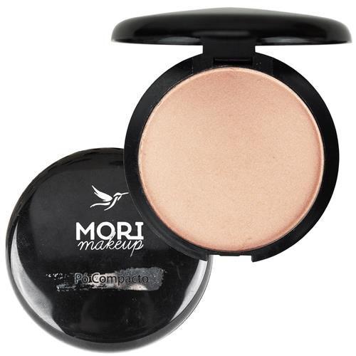 Pó Compacto Iluminador com espelho - Mori Makeup