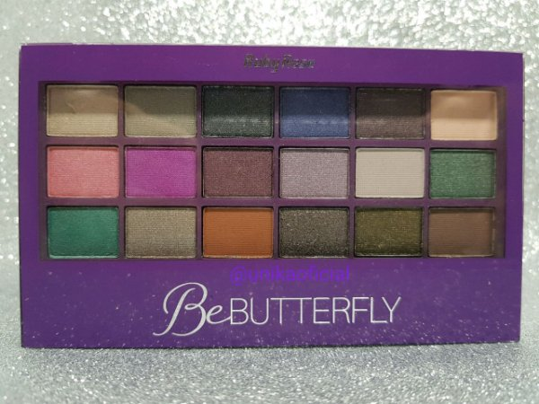 Ruby Rose Be Butterfly Kit De Sombras Hb-9922