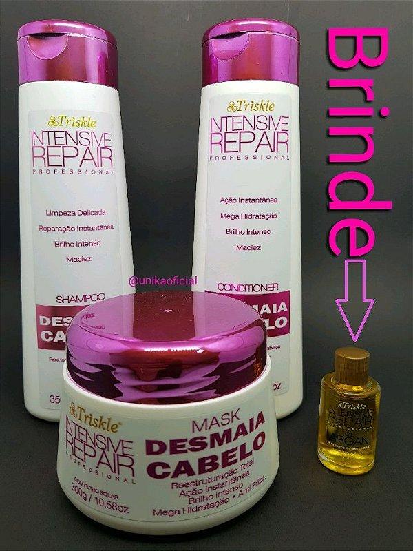 Kit Desmaia Cabelo Triskle Intensive Repair