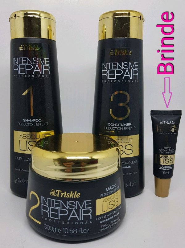 Triskle Kit De Tratamento Intensive Repair Absolut Liss