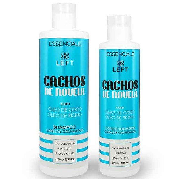 Mini Pack de Shampoo e Condicionador Cachos de Novela Essenciale (2 itens)