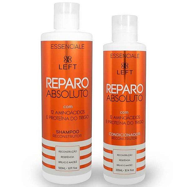 Mini Pack de Shampoo e Condicionador Reconstrutor Reparo Absoluto Essenciale (2 itens)