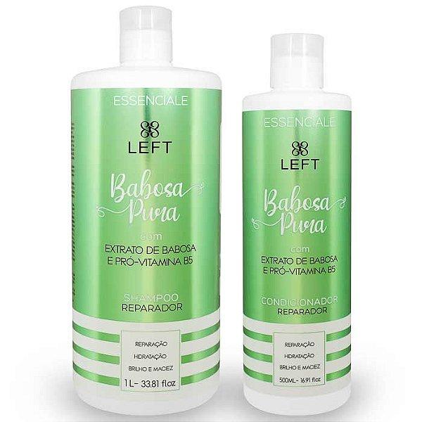 Kit de Shampoo e Condicionador Babosa Pura Essenciale (2 itens)