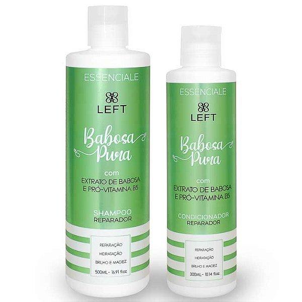 Mini Pack de Shampoo e Condicionador Babosa Pura Essenciale (2 itens)