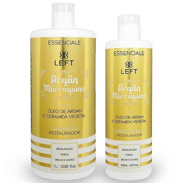 Kit de Shampoo e Condicionador Argan Marroquino Essenciale (2 itens)