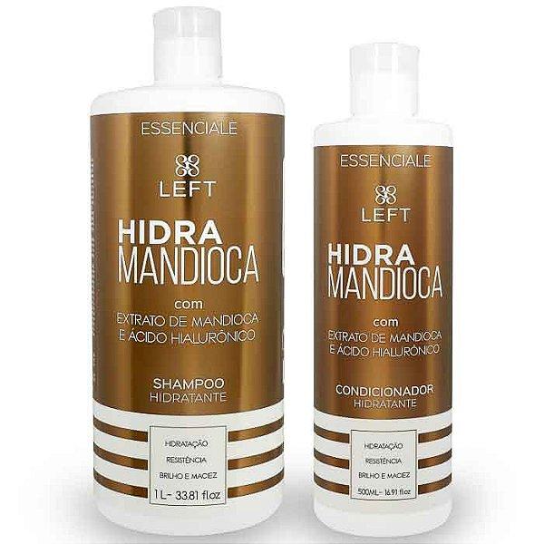 Kit de Shampoo e Condicionador Hidra Mandioca Essenciale (2 itens)