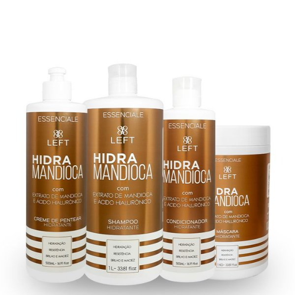 Kit Hidra Mandioca Essenciale (4 itens)