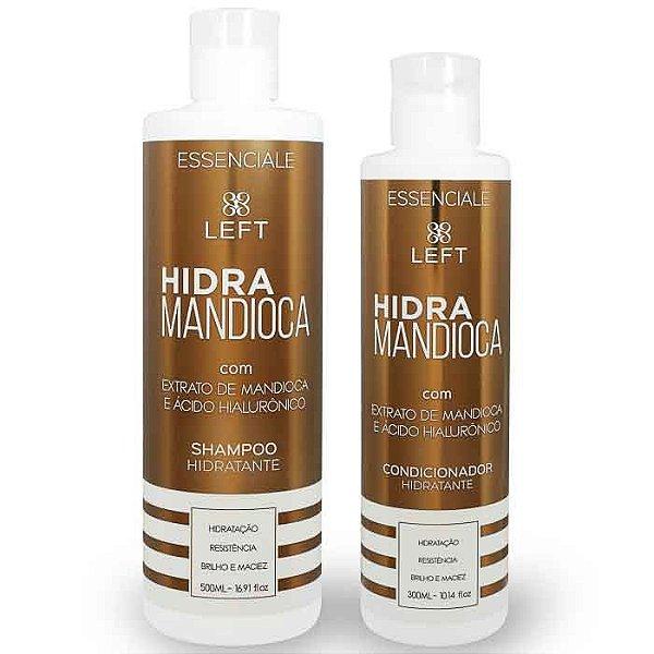 Mini Pack de Shampoo e Condicionador Hidra Mandioca Essenciale (2 itens)