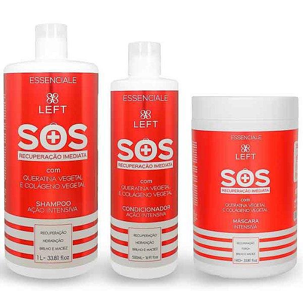 Kit de Tratamento SOS Reconstrução Imediata Essenciale (3 itens)
