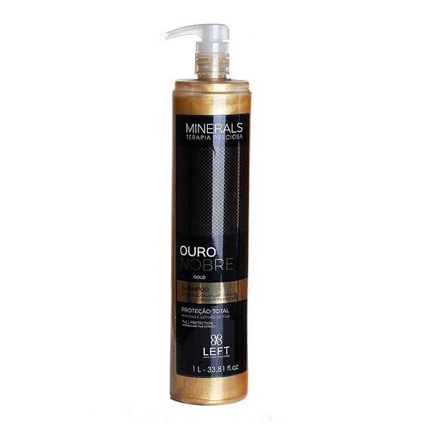 Shampoo Minerals Ouro Nobre 1L Cabelos com Química