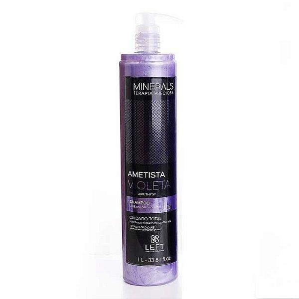 Shampoo Minerals Ametista Violeta 1L Cabelos Loiros ou com Mechas