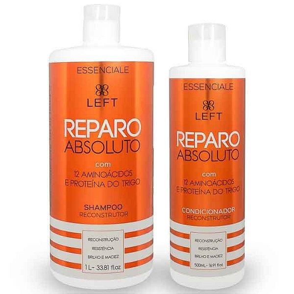 Kit de Shampoo e Condicionador Reconstrutor Reparo Absoluto Essenciale (2 itens)