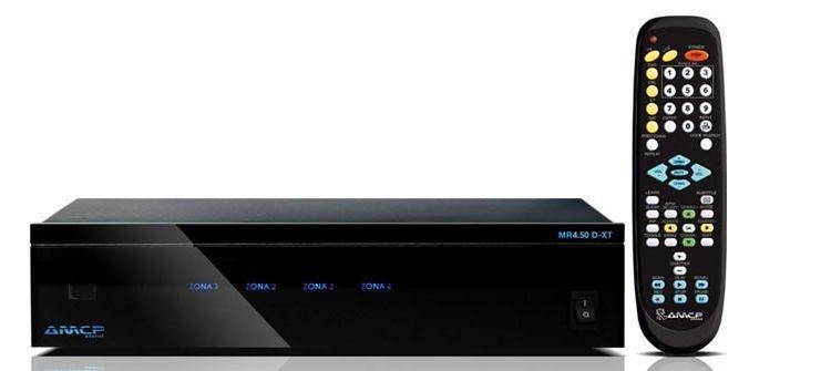 Amplificador Multiroom Digital AMCP 4 e 6 Zonas