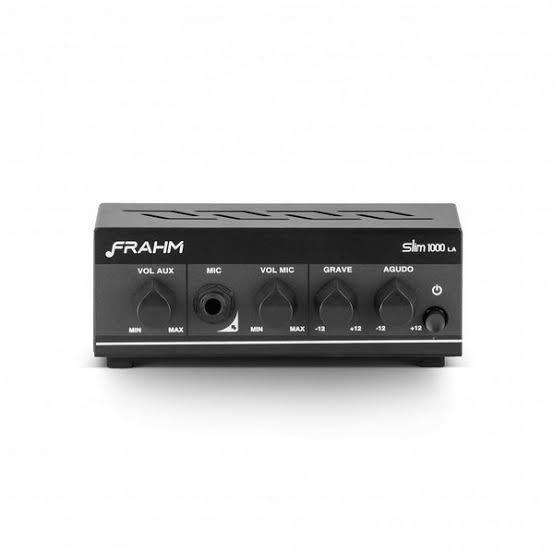 Amplificador - Receiver para Som Ambiente Frahm SLIM 1000 LA 40W
