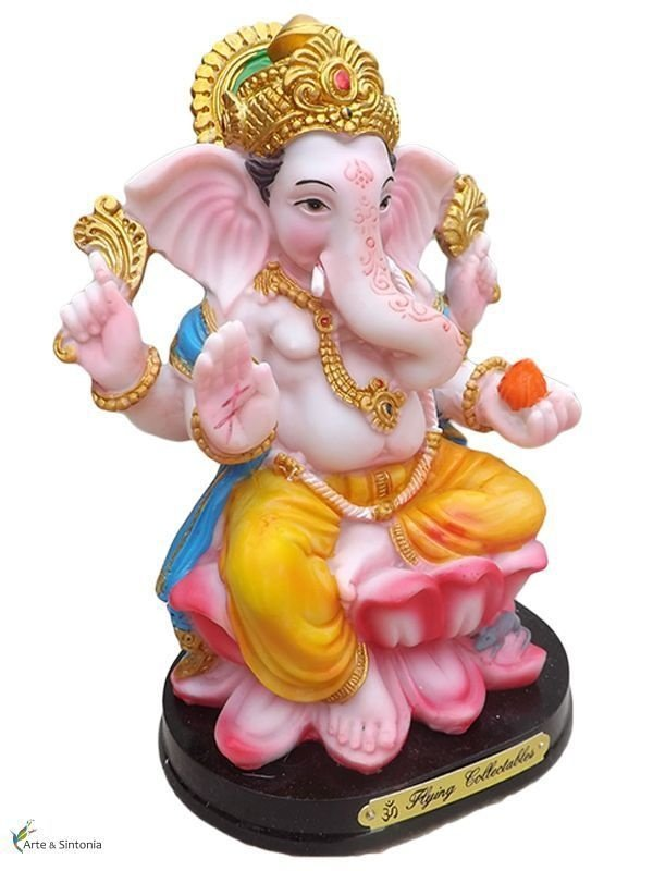 Escultura Deus Ganesh 16cm