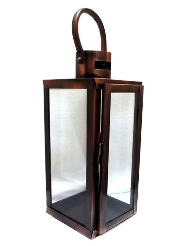 Lanterna Marroquina p/ Velas - Cobre 30cm
