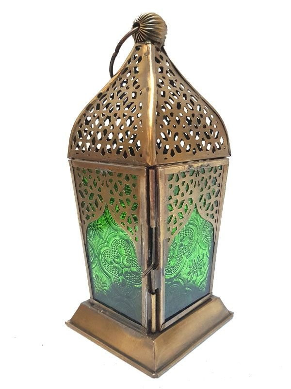 Lanterna Indiana Decor p/ Velas 17cm
