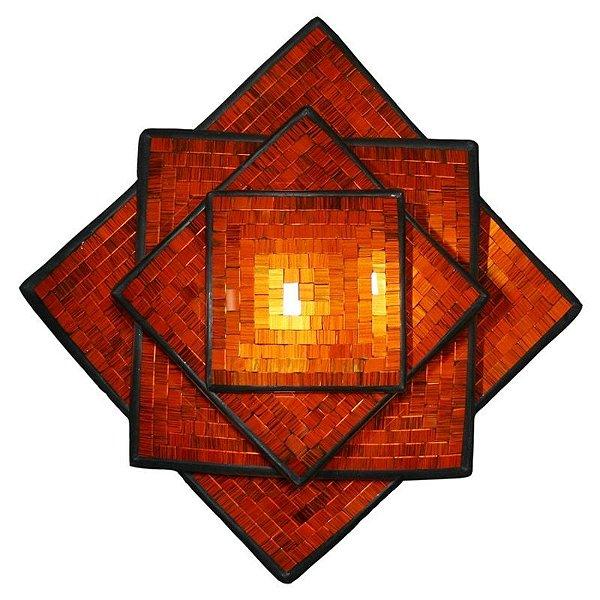 Fruteira Mosaico em Cerâmica - Bali