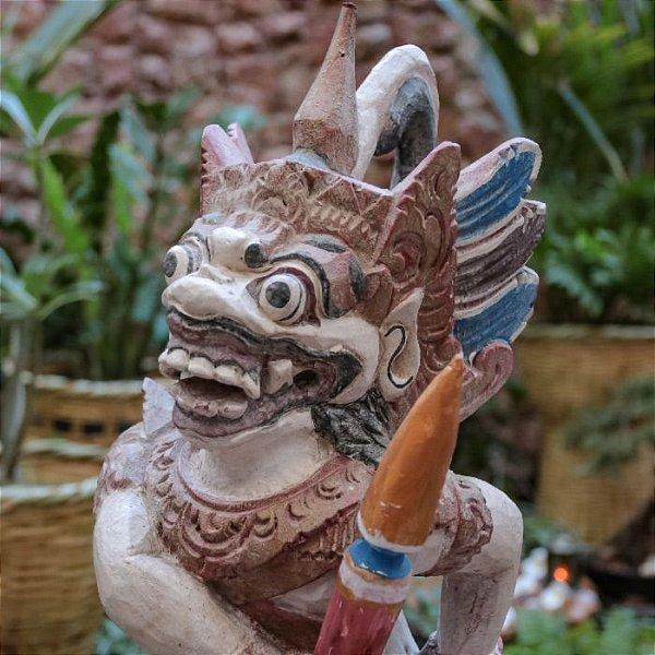 Escultura Hanuman Monkey Bali 70cm