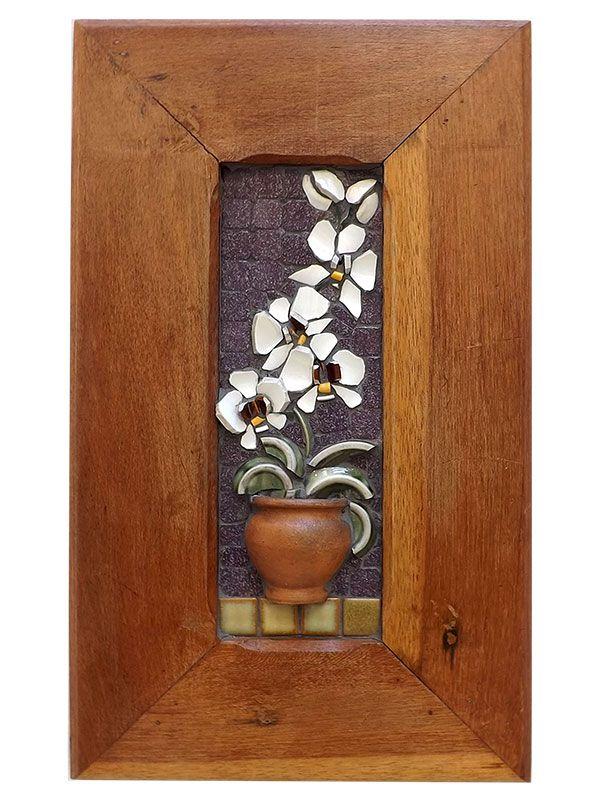 Quadro Mosaico Tulipa