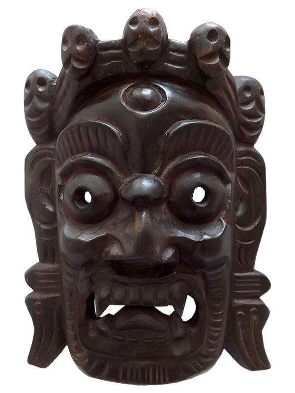 Máscara Tibetana Mahakala 30cm - Relíquia