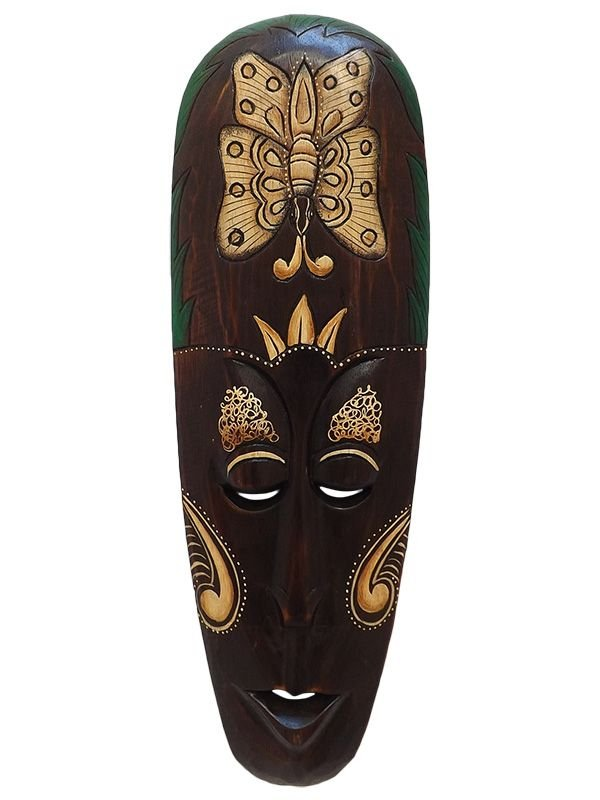 Máscara Lombok Nature 50cm - Borboleta