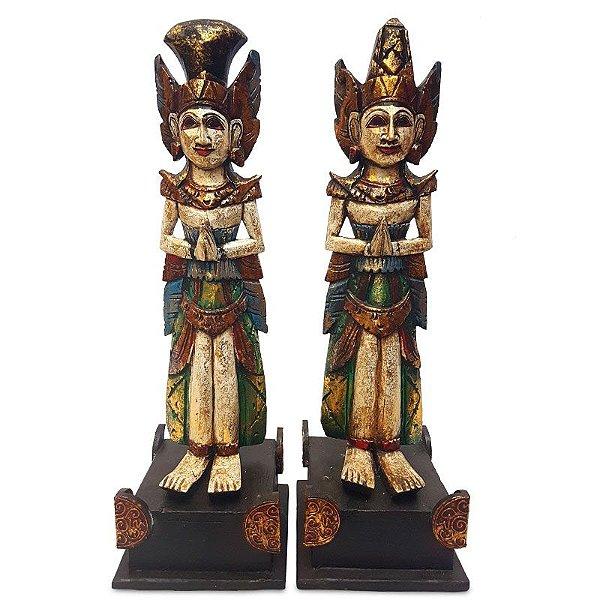 Casal Rama e Sita c/ Base 60cm - Amor Eterno