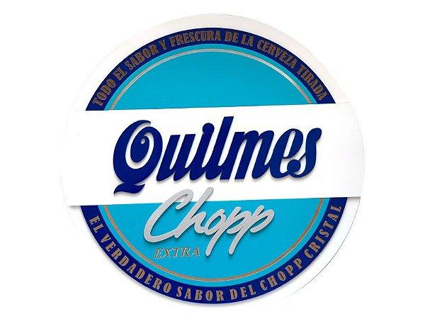 Placa Decorativa Chopp Quilmes