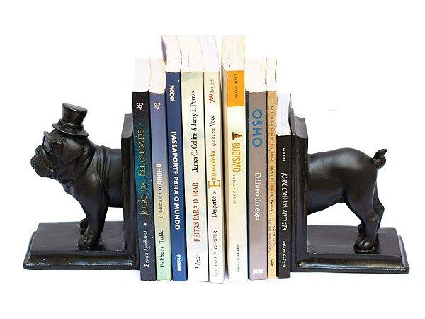 Aparador de Livros Cachorro Bulldog