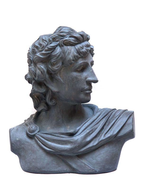 """Busto Deus Grego """"Apollo"""""""