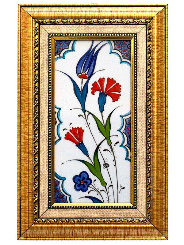 Azulejo Turco Emoldurado 28x18cm