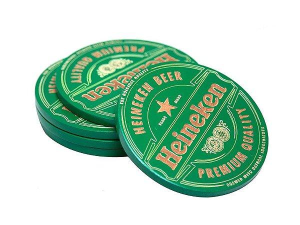 Porta-Copos Heineken - 05 pçs