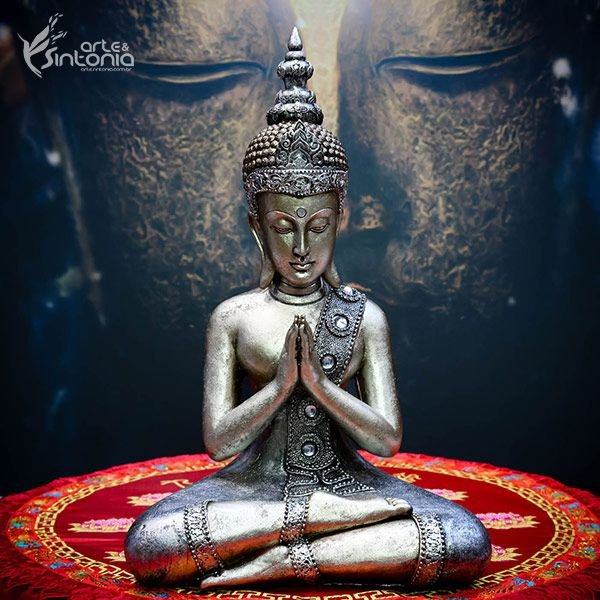 Escultura Buda Tailandês 40cm