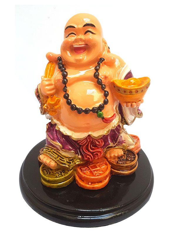 Estátua em Resina Happy Buda