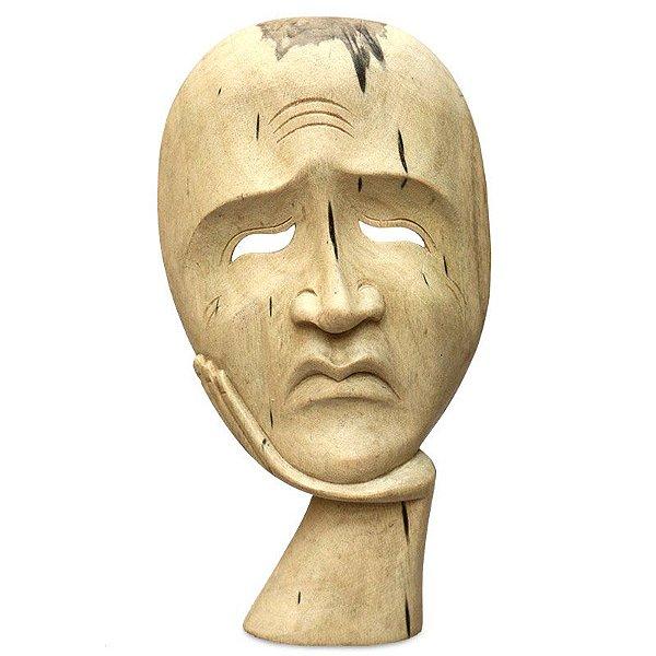 Máscara Decorativa Teatro Grego