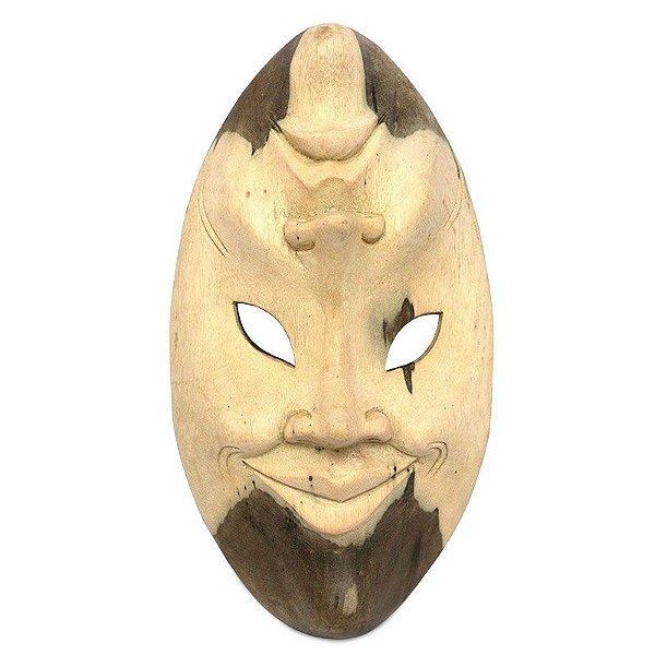 "Máscara Teatral ""As Duas Faces"" - Bali"