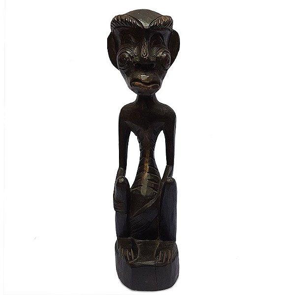Escultura Primitivo 50cm - Bali
