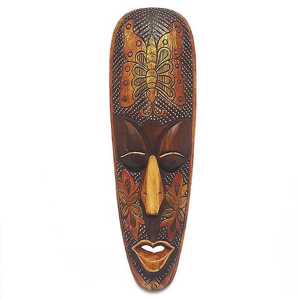 Máscara Decorativa 50cm Borboleta - Bali