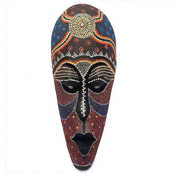 Máscara Lombok Colorida 50cm