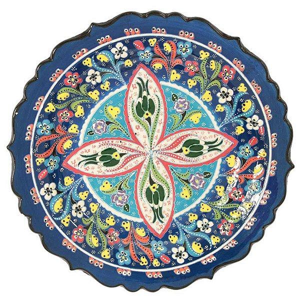 Prato Turco em Cerâmica 30cm