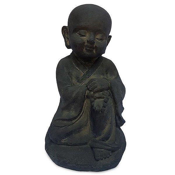 Escultura Monge Contemplando 40cm
