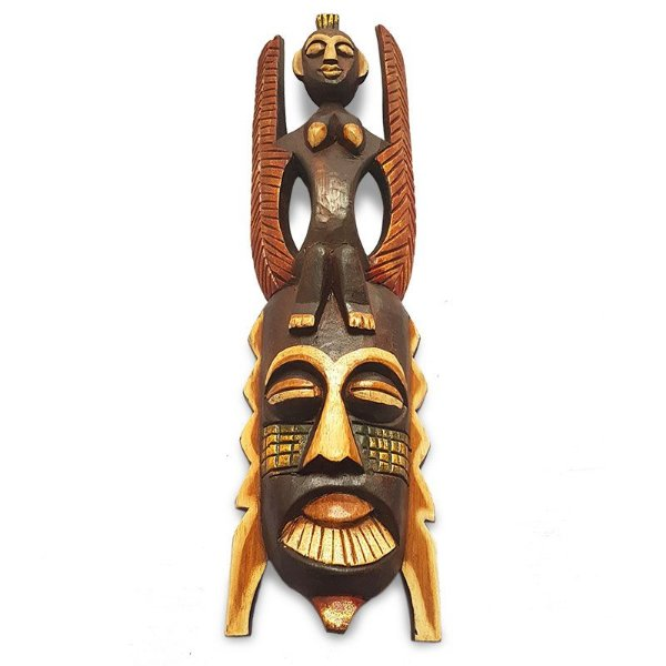 "Máscara ""Homem Pássaro"" 50cm - Bali"