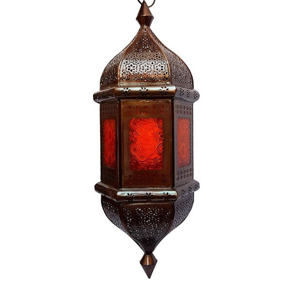 "Lanterna Pendente Indiana ""Shanti"" 53cm"