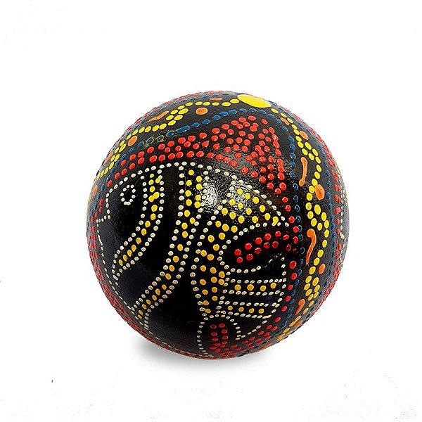 Bola Decorativa em Madeira - Bali