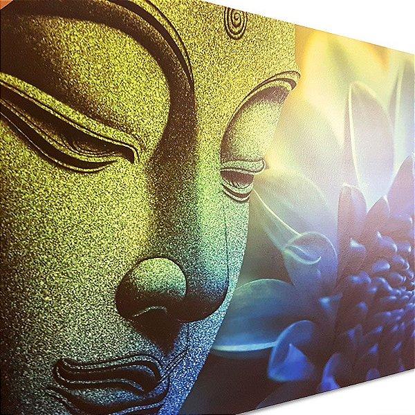 Quadro de Buda e Lótus 100x150cm