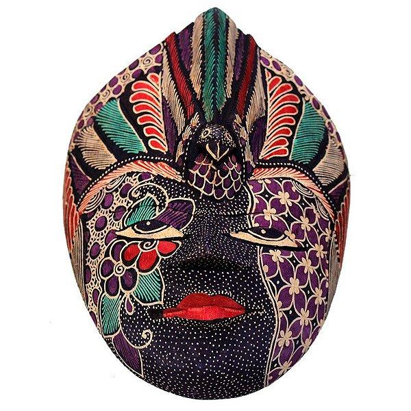 Máscara Batik Decorativa Color
