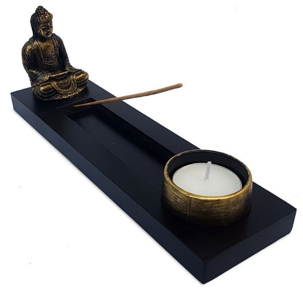 Incensário Buda Zen c/ Vela